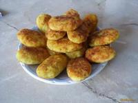 Рецепт Биточки картофельные с сыром рецепт с фото