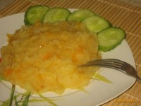Рецепт Картофельное пюре с морковью и луком рецепт с фото