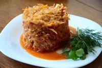 Рецепт Тушеная капуста с болгарским перцем рецепт с фото