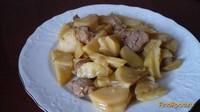 Рецепт Картошка с соевыми кусочками рецепт с фото