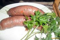 Рецепт Быстрая домашняя колбаса рецепт с фото