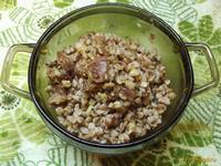 Рецепт Гречневая каша со шкварками из баранины рецепт с фото