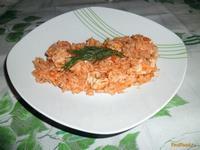 Рецепт Рис с мясом и имбирем рецепт с фото