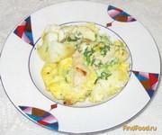 Рецепт Омлет с курицей и цветной капустой рецепт с фото