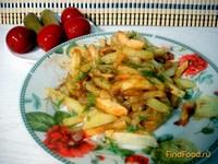 Рецепт Жареный картофель рецепт с фото