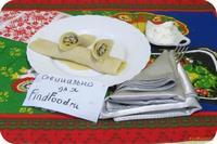 Рецепт Блины с омлетом и грибами рецепт с фото