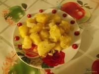 Рецепт Золотистая картошечка рецепт с фото