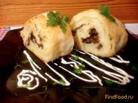 Рецепт Лаваш с картофелем и грибами рецепт с фото