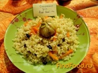 Рецепт Пряный плов без мяса рецепт с фото