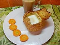 Рецепт Сундучки с яйцами на завтрак рецепт с фото
