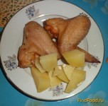 Рецепт Аппетитные крылышки рецепт с фото