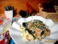 Рецепт Деруны запеченные с грибами рецепт с фото