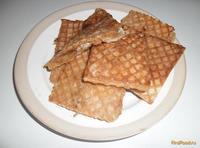 Рецепт Вафли с мясом рецепт с фото