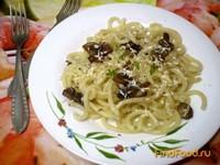 Рецепт Макароны с грибами под сыром рецепт с фото
