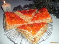 Рецепт Блинный торт Простой рецепт с фото