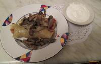 Рецепт Голубцы с мясом и грибами рецепт с фото