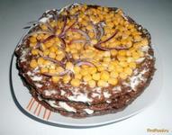 Рецепт Вкусный печеночный торт рецепт с фото