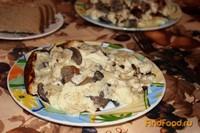 Рецепт Омлет с маринованными грибами рецепт с фото