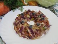 Рецепт Тушеная белокочанная и краснокочанная капуста рецепт с фото