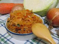 Рецепт Капуста тушеная с грибами рецепт с фото