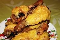 Рецепт Куриные голени с сыром и чесноком рецепт с фото