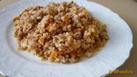 Рецепт Гречневая каша с соевым фаршем рецепт с фото