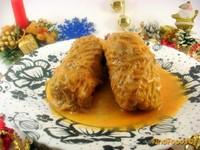Рецепт Голубцы из савойской капусты и свинины рецепт с фото