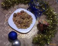 Рецепт Домашняя лапша с фаршем и томатом рецепт с фото