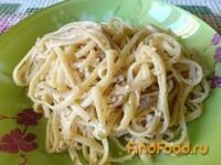 Рецепт Спагетти с ореховым соусом рецепт с фото