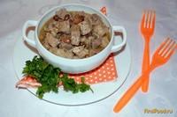 Рецепт Мясо тушеное с изюмом рецепт с фото