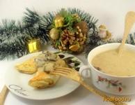 Рецепт Рождественская грибная подливка с лавашом рецепт с фото