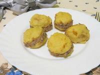 Рецепт Закуска из картофеля и сельди рецепт с фото