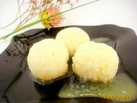Рецепт Гарнирные рисовые шарики рецепт с фото