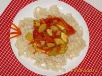 Рецепт Овощная паста с кабачком рецепт с фото