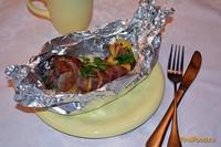 Рецепт Запеченный язык с чесноком и сыром рецепт с фото