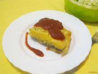 Рецепт Запеканка из картофеля под красным соусом рецепт с фото