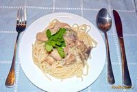 Рецепт Фунчоза с грибами рецепт с фото