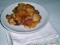 Рецепт Жареный картофель с паприкой рецепт с фото