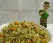 Рецепт Вегетарианский плов с айвой рецепт с фото