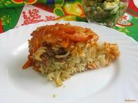 Рецепт Макаронная запеканка из духовки рецепт с фото