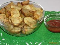 Рецепт Запеченный картофель со специями рецепт с фото