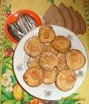 Рецепт Печеная картошечка с салом рецепт с фото