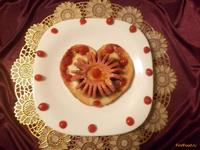Рецепт Яичные гренки с сосиской рецепт с фото