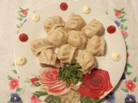 Рецепт Вареники с картофелем и зеленью петрушки рецепт с фото