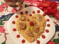 Рецепт Рисовая каша с куриным фаршем рецепт с фото