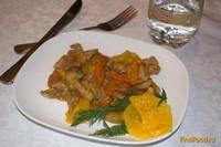 Рецепт Свинина с апельсином в китайском стиле рецепт с фото