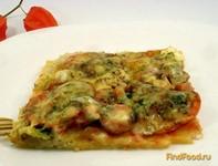Рецепт Пицца с сосисками и моцареллой рецепт с фото