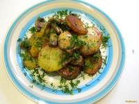 Рецепт Картофель с грибами и укропом рецепт с фото