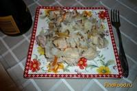 Рецепт Каша рисовая с курочкой и овощами рецепт с фото