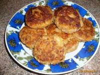 Рецепт Постные фасолево-овощные котлетки рецепт с фото